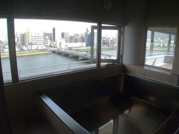 7階大浴場景観